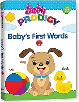 Baby Prodigy: Baby's First Words (Volume One) by Baby Prodigy Productions