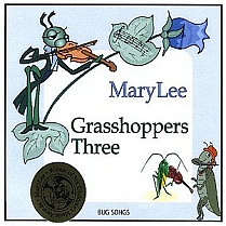 Grasshoppers Three by Mary Lee Sunseri