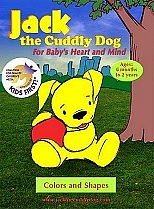 Jack the Cuddly Dog: Colors and Shapes by Hello Baby Productions