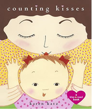 Counting Kisses: A Kiss & Read Book by Karen Katz