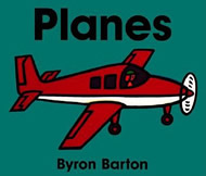 Planes Board Book by Byron Barton