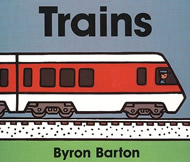 Trains Board Book by Byron Barton