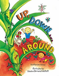Up, Down, and Around author talks about her book and love of vegetables