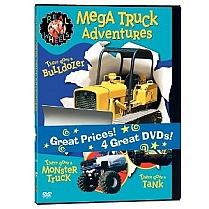 Real Wheels: Mega Truck Adventures by Warner Home Video