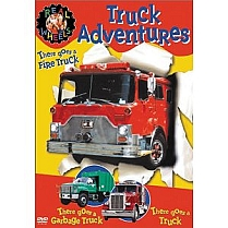 Real Wheels: Truck Adventures by Warner Home Video