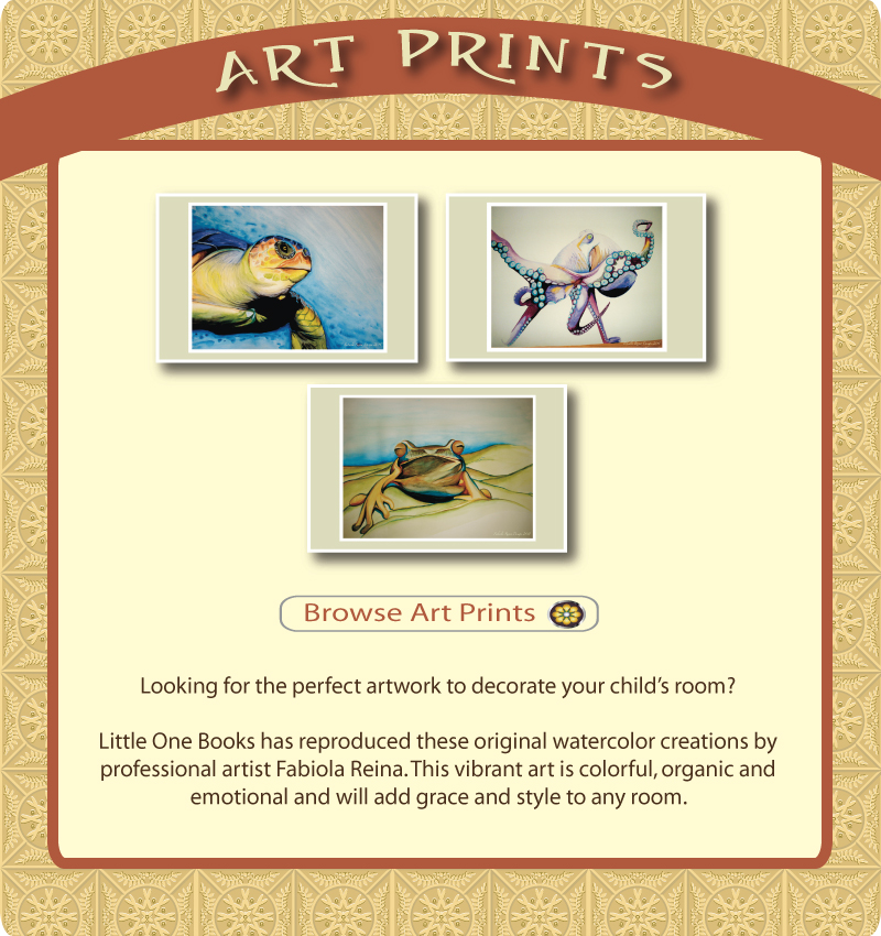 Browse Art Prints, available only at Little One Books