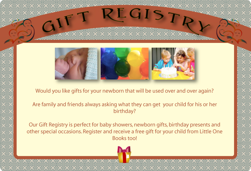 Little One Books Gift Registry