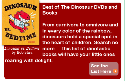 Best of the Dinosaur DVDs and Books