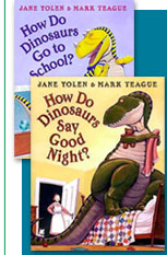 'How Do Dinosaurs' Books by Jane Yolen