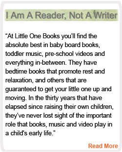 I am a Reader, Not a Writer Reviews Little One Books