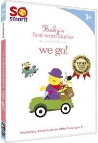 So Smart! baby's first-word stories: we go!