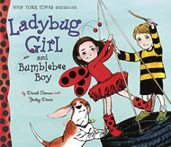 Ladybug Girl and Bumblebee Boy by David Soman