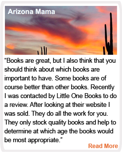 Arizona Mama Reviews Little One Books
